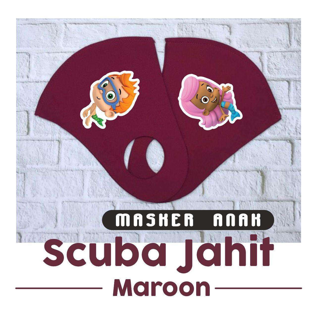 Cetak Masker Scuba - Metropolis | Digital Printing Surabaya